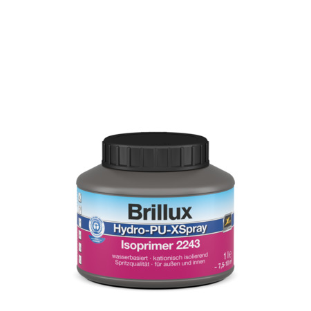 brillux hydro pu xspray isoprimer 2243 g nstig im farben online shop. Black Bedroom Furniture Sets. Home Design Ideas