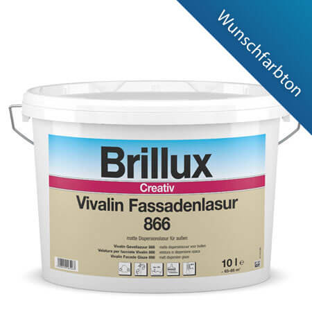 brillux creativ vivalin fassadenlasur 866 g nstig im farben online shop. Black Bedroom Furniture Sets. Home Design Ideas
