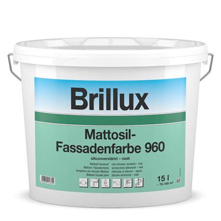 brillux mattosil fassadenfarbe 960 g nstig im farben. Black Bedroom Furniture Sets. Home Design Ideas