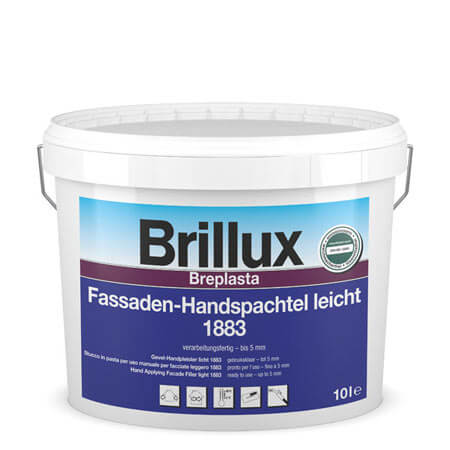 brillux fassaden handspachtel 1883 g nstig im farben online shop. Black Bedroom Furniture Sets. Home Design Ideas