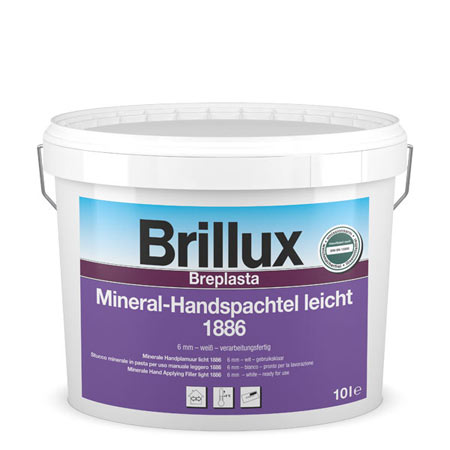 brillux mineral handspachtel 1886 wei g nstig im farben online shop. Black Bedroom Furniture Sets. Home Design Ideas